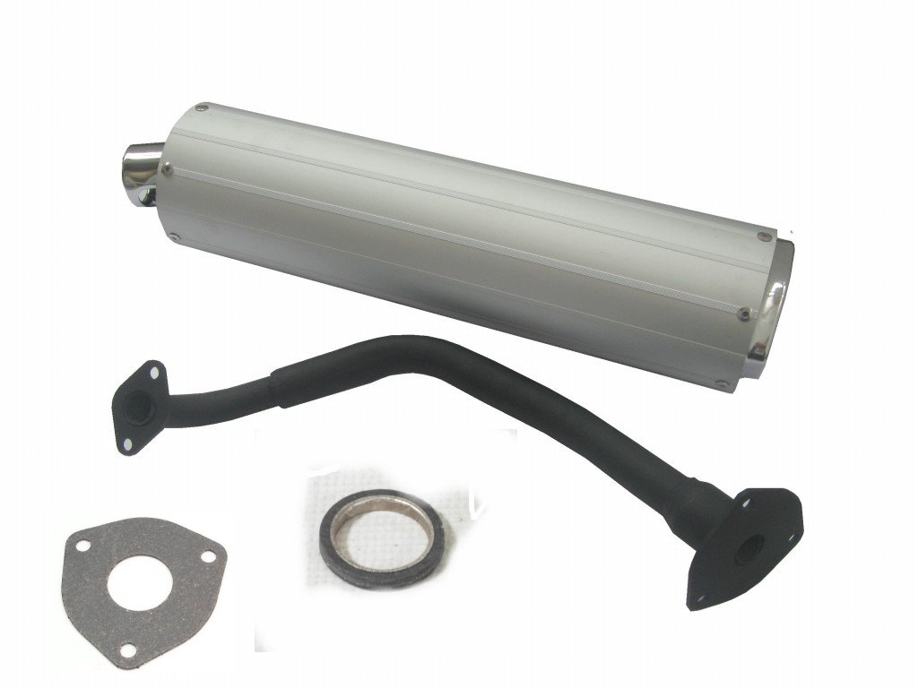 Chinese Scooter Barrel Exhaust Assembly