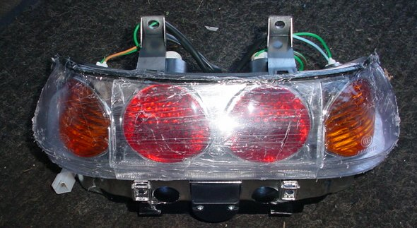 Touring Exe Tail light Assembly