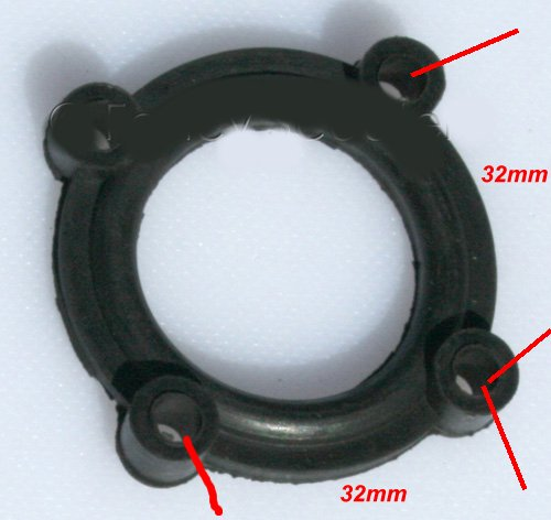 4 bolt Gas fuel sensor gasket Sporty ee-de