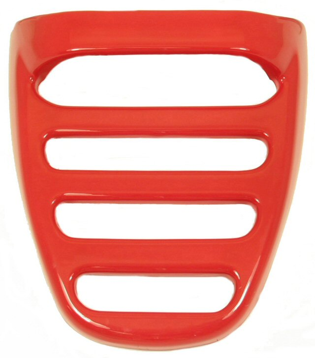Racer Aruba Fiji Rear Scooter Luggage Rack Cover Red