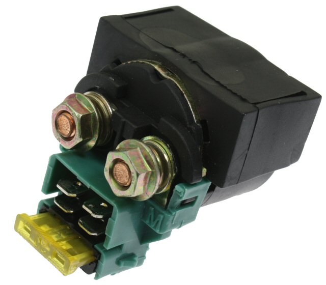 Starter Solenoid Relay with Main Fuse