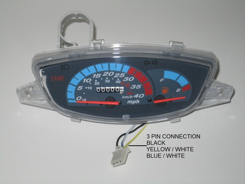 Urban Maui Jalon Speedometer Assembly